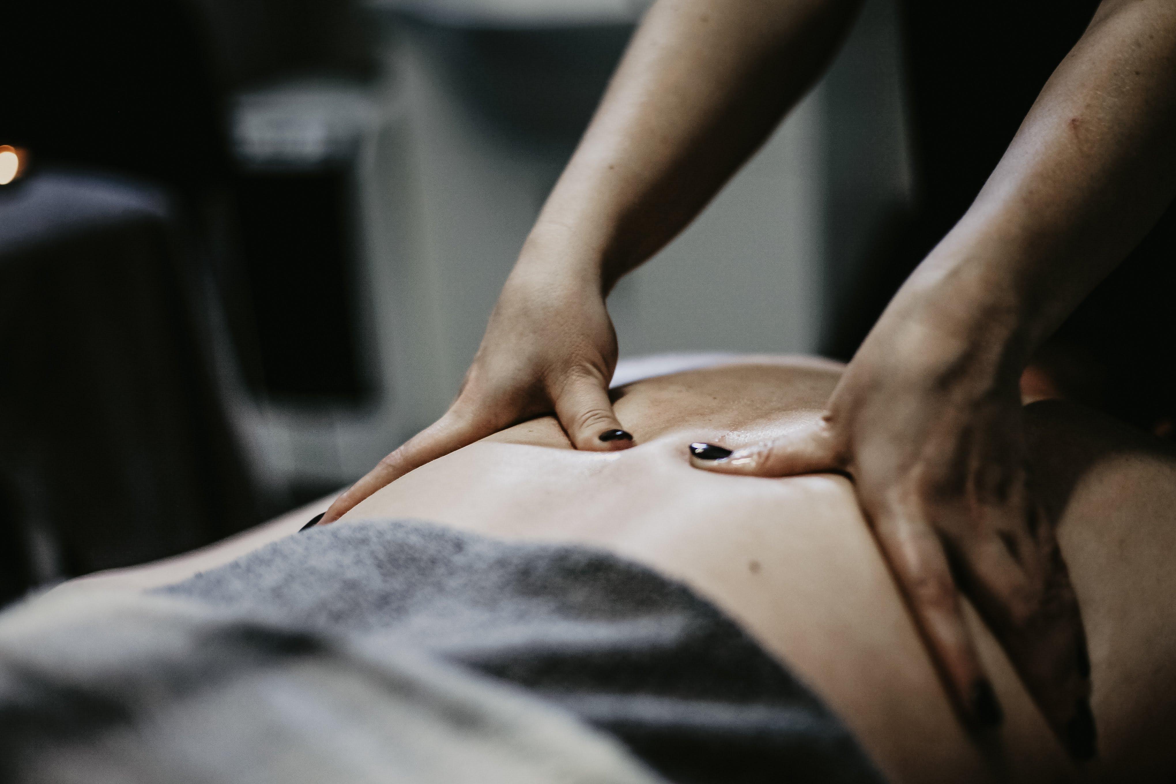 Massage Being Done